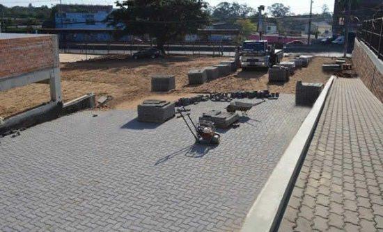 Pavimentação do Santuário de Fátima em Porto Alegre - RS