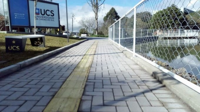 Pavimentação realizada na UCS